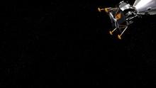 Apollo Lunar Lander Docked Wit...