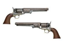 Antiker Amerikanischer Colt Navy Perkussionsrevolver