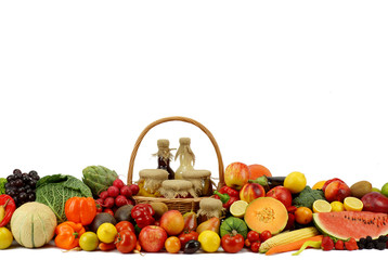 Owoce z warzywami