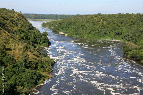Printed kitchen splashbacks River The Nile River, Uganda, Africa