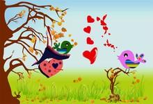 Zakochane Ptaki