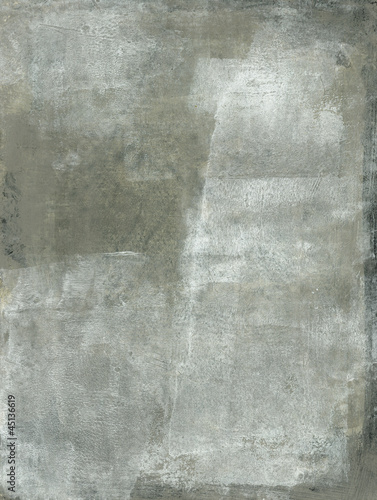 Subtle Gray And White Abstract Painting