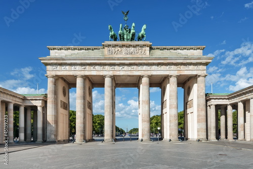 Brandenburger Tor, Berlin Canvas Print