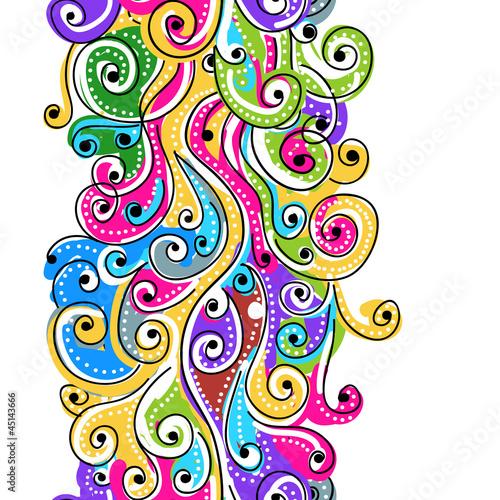 kolorowe-fale-recznie-rysowan