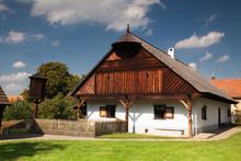 Historic Rural Wooden In An Op...