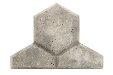 Concrete Paving Tile Isolated ...