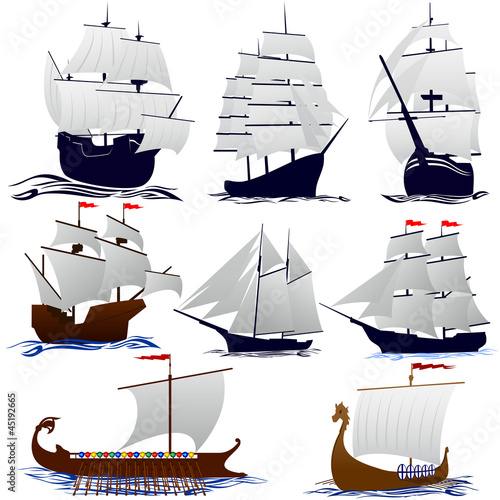 In de dag Schip Old sailing ships