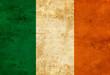 canvas print picture - Irish flag