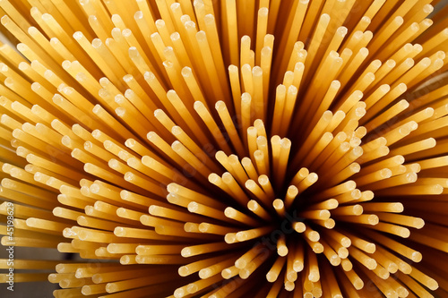 Deurstickers Macrofotografie spaghetti background