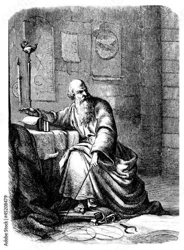 Archimedes : an antique Scientist Wallpaper Mural