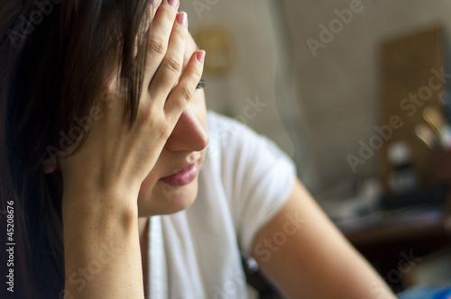 Fotografie, Obraz  Headache