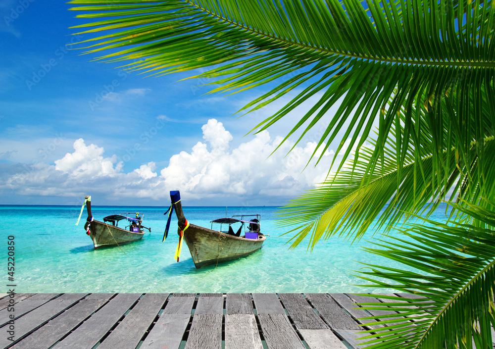 Fototapeta tropical sea