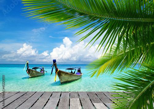 Foto-Rollo - tropical sea