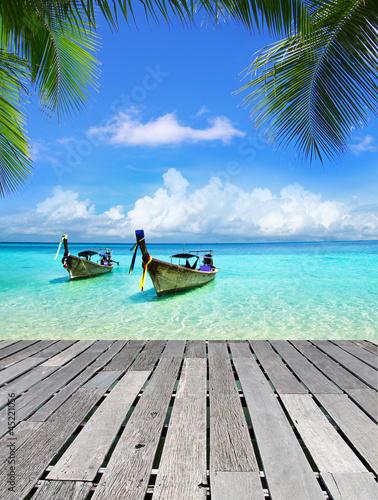 Foto Rollo Basic - tropical sea (von Pakhnyushchyy)
