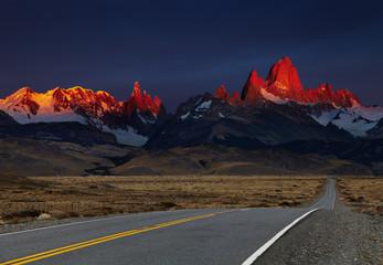 Mount Fitz Roy at sunrise, Patagonia, Argentina