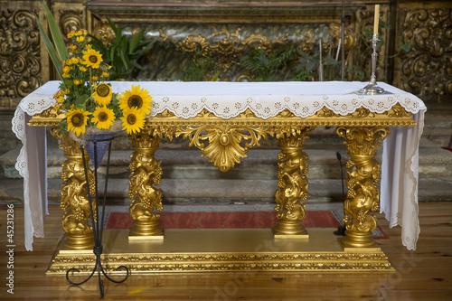 Fotografie, Obraz  Cathedral altarpiece