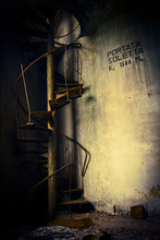 Grunge Abandoned Stairs