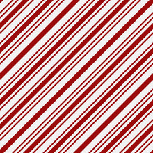 Red And White Striped Fabric Background