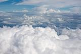 Fototapeta Fototapeta z niebem - Fluffy clouds