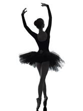 Young Woman Ballerina Ballet D...
