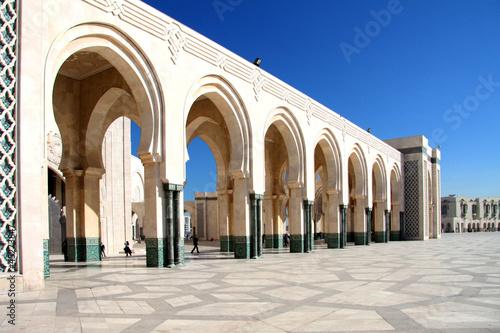 Gewölbe der Hassan-II-Moschee in Marokko