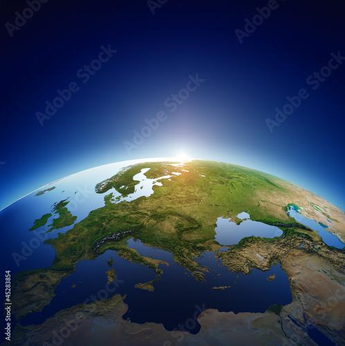 planeta-ziemia-europa-ze-wschodem-slonca