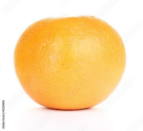 Fototapeta Ripe grapefruit isolated on white obraz na płótnie