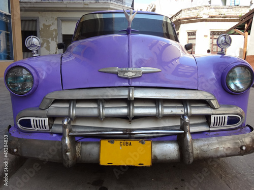 Canvas Prints Cars from Cuba Auto d'epoca a L'Havana