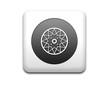 Boton cuadrado blanco simbolo neumatico
