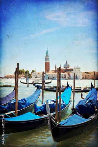 Foto op Plexiglas Venetie Venice, View of San Giorgio maggiore from San Marco