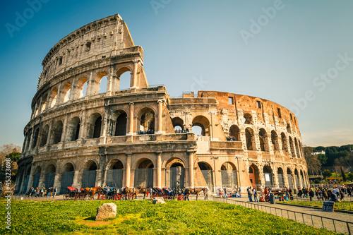 Fotografie, Obraz  Coliseum in Rome