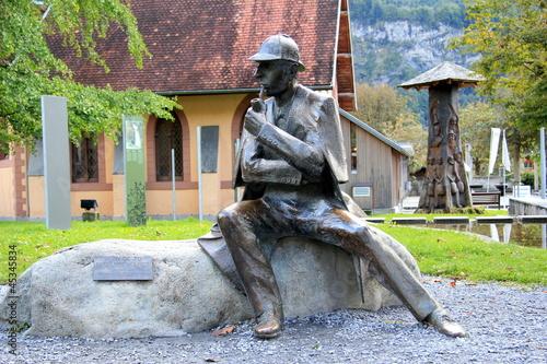 Photo  Sherlock Holmes à Meiringen