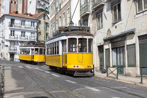 Fototapeta Tramway Lisboa obraz na płótnie