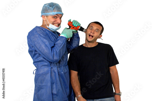 Valokuva  Chirurgo pazzo