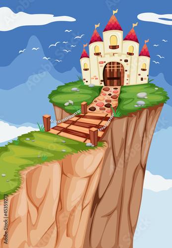Poster Castle A palace