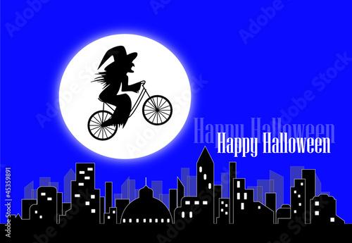 Valokuva  strega in bicicletta