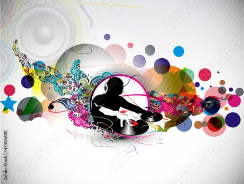 plakat-koncepcyjny-dj-muzyki