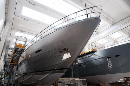 Obraz na płótnie Italian shipyard