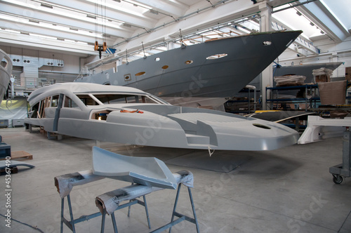 Tablou Canvas Italian shipyard