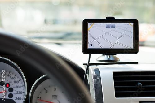 Fotografia  Nawigacja samochodowa GPS