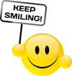 Buźka uśmiech