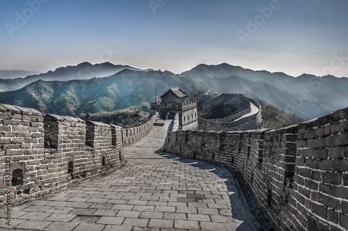 Foto op Canvas China Great Wall at Mutianyu