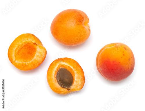 Cuadros en Lienzo apricot fruit close up