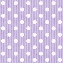 Purple And White Polka Dot Fabric Background