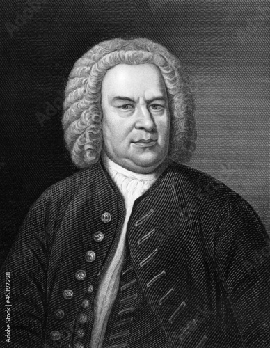Fotografía  Johann Sebastian Bach