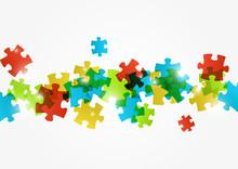 Puzzle Color Background