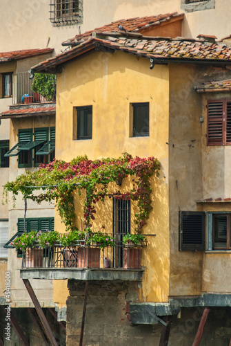 Residence on Ponte Vecchio in Florence © wallaceweeks