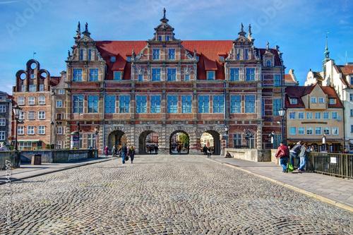 fototapeta na drzwi i meble Gdańsk-Zielona Brama