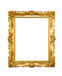 canvas print picture - Ornate picture frame