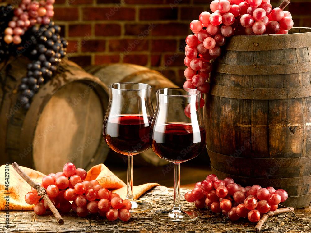 Fototapety, obrazy: vino